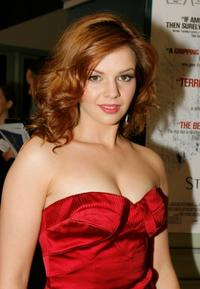 Amber Tamblyn at the screening of