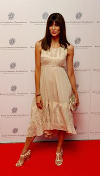 Lisa Barbuscia at the Raisa Gorbachev Foundations Second Annual Gala Dinner.