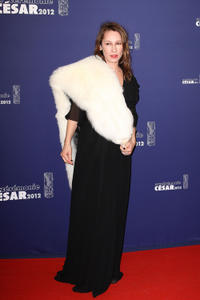 Emmanuelle Bercot at the 37th Cesar 2012 Film Awards.