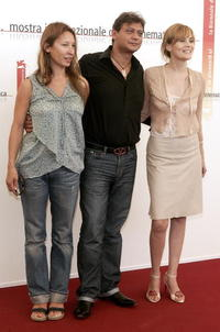 Emmanuelle Bercot, Valery Zeitoun and Emmanuelle Seigner at the photocall of