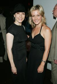 Bebe Neuwirth and Amy Carlson at the after party of the premiere of