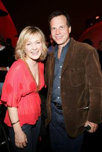 Amy Carlson and Bill Paxton at the after party of the premiere of