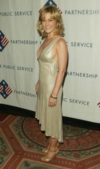 Amy Carlson at the Partnership for Public Service Gala.
