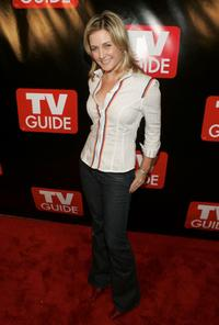 Amy Carlson at the TV Guide's Launch of New Magazine.