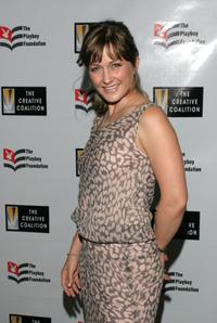 Amy Carlson at the Playboy Foundation's 25th Anniversary Hugh M. Hefner First Amendment Awards.