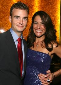 Robin Dunne and Director Vanessa Parise at the after party of the premiere of