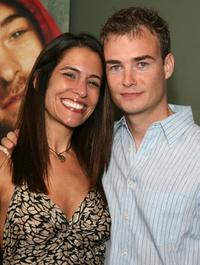 Vanessa Parise and Robin Dunne at the premiere of
