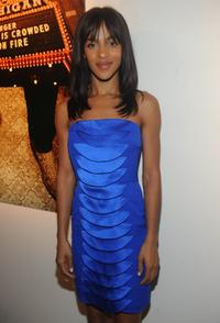Megalyn Echikunwoke at the after party of the New York premiere of