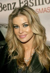 Carmen Electra at Fashion Week, Smashbox Studios.