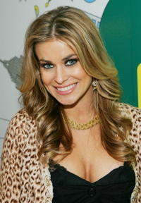 Carmen Electra on TRL.