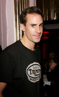 Joseph Fiennes at the aftershow party following the