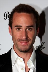 Joseph Fiennes at the Persol Collezione Suprema fashion show.