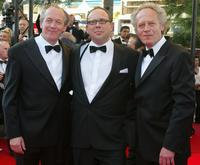 Directors Luc Dardenne, Olivier Gourmet and Jean-Pierre Dardenne at the 55th International Film Festival.