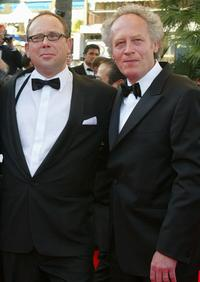 Olivier Gourmet and Jean-Pierre Dardenne at the 55th International Film Festival.