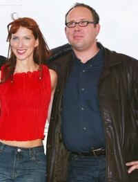 Isaebella Soupart and Olivier Gourmet at the screening of