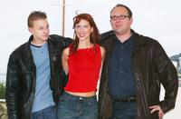 Morgan Marinne, Isaebella Soupart and Olivier Gourmet at the screening of