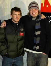 William Lee and Elden Henson at the premiere of