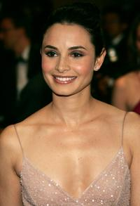 Mia Maestro at the screening of