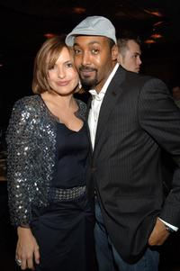 Mariska Hargitay and Jesse L. Martin at the Tribeca Film Institute Gala Benefit.