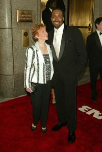 Jesse L. Martin and Guest at the 59th Annual Tony Awards.