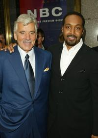 Dennis Farina and Jesse L. Martin at the NBC Primetime Preview.