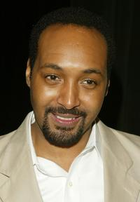 Jesse L. Martin at the American Theatre Wing's 2004 Tony Awards Nominations.
