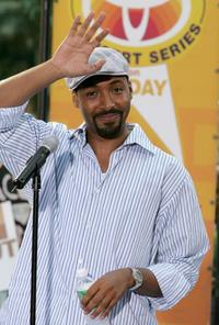 Jesse L. Martin at the Toyota Concert Series.