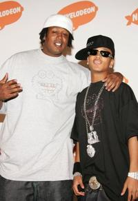 Master P and son Romeo at the 19th Annual Kid's Choice Awards.