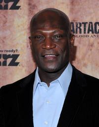 Peter Mensah at the premiere of