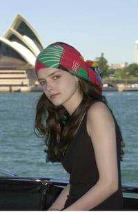 Roxane Mesquida at the Harbour Cruise in Sydney.