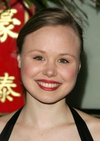 Alison Pill at the after party of the opening night of