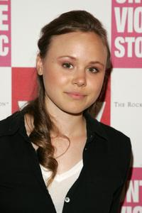 Alison Pill at the Memory, A Monologue, A Rant, A Prayer: Writers On Violence Against Women And Girls.
