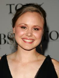 Alison Pill at the 60th Annual Tony Awards.