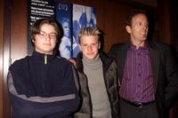 Rufus Read, Noah Fleiss and Director Stephen Kinsella at a screening of
