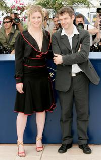 Natacha Regnier and Director Lucas Belvaux at the photocall of