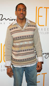 Jaleel White at the grand opening of the Jet Nightclub in Nevada.