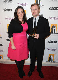 Emma Thomas and Christopher Nolan at the 14th Annual Hollywood Awards Gala.