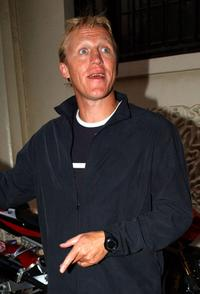 Jerome Flynn at the premiere of