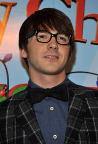 Drake Bell at the premiere of