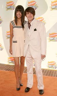 Melissa Lingafelt and Drake Bell at the Annual Kid's Choice Awards.