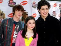 Drake Bell, Miranda Cosgrove and Josh Peck at the Annual Kids Choice Awards.