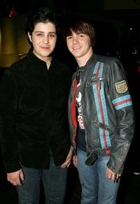 Josh Peck and Drake Bell at the Annual Kids Choice Awards.