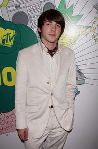 Drake Bell at the MTV Times Square Studios.