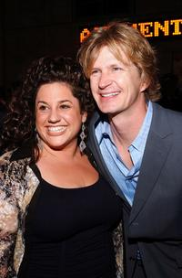 Marissa Jaret Winokur and Bill Brochtrup at the opening night of