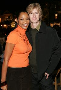 Garcelle Beauvais-Nilon and Bill Brochtrup at the ABC's Winter Press Tour party.