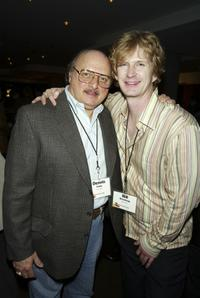 Dennis Franz and Bill Brochtrup at the ABC-TV's All-Star party.