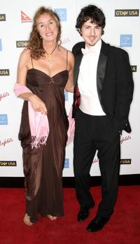 Rory Flynn and Sean Flynn at the Australia Week's 2009 Black Tie Gala.