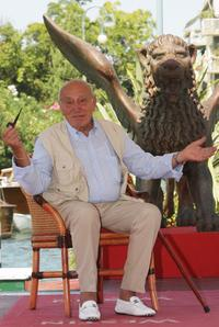 Arnoldo Foa at the Excelsior Hotel during the 65th Venice Film Festival.