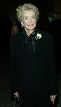 Nina Foch at the Centennial Tribute to the late director Vincente Minnelli.