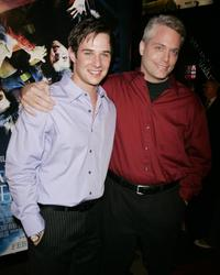 Ryan Merriman and Craig Perry at the premiere of